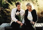 Mona Holmberg & Ulf Strindberg. Skaparna av Mästarrabatten 2006.