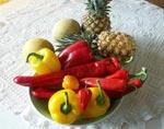 Chili, paprika m.m.