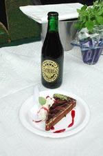 Chokladkaka med porter gammal svensk firarmat