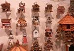 Handgjorda fågelholkar