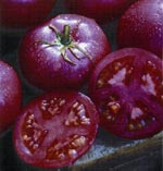 Tomat 'Eva Purple Ball'
