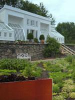 Orangeriet och Futuristiska köksträdgården