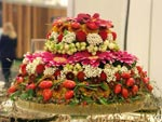 Interfloras Blomstertårta