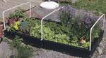 Stabil kant för grönsakssäng