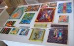 Täckodlingar av olika konstnärer