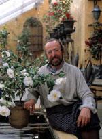 Tage Andersen ställer ut Kamelior i Bergianska trädgården