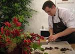 Le chocolatier Sylvain Marron