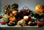 Ett stämningsfyllt bordsarrangemang till en mysig Hallowéenkväll.