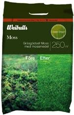 MOSS- kombinerat mossmedel och gräsmattegödsel.