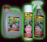 Spray och saneringsmedel