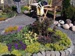 Små örtagårdar med fjärilsholk