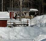 På två dagar snöade det flera decimeter.