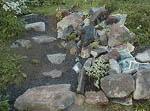 Stenpartiet växer fram