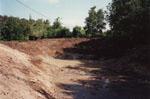 Botten bestod av ren lera och efterhand som grundvattnet steg visade den sig hålla vatten mycket bra.
